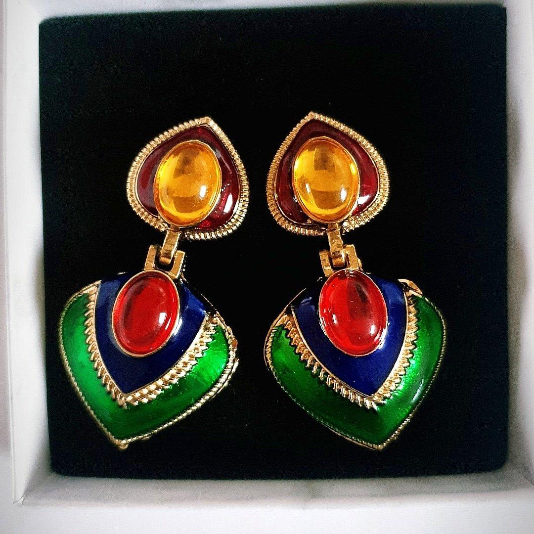 Image of Nadège Multicoloured Earrings