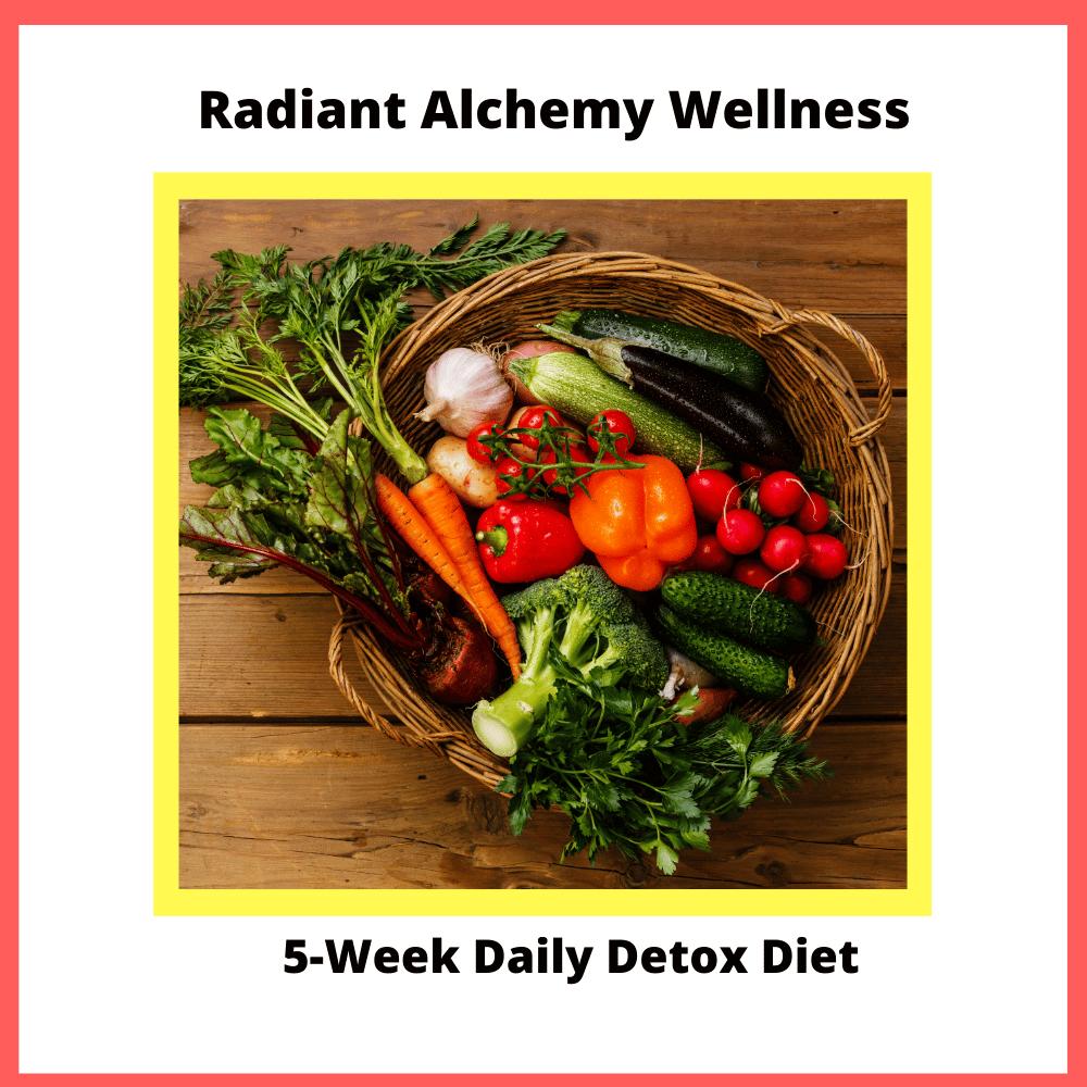 Radiant Alchemy Wellness 5-Week Daily Detox Diet