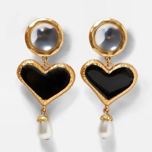 Image of Aku Heart Earring