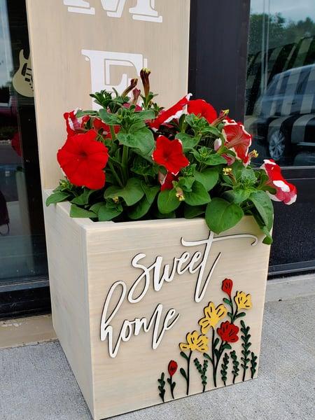 Image of Planter Box Porch Signs