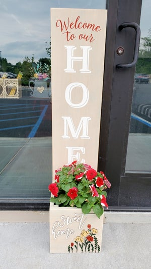 Image of Planter Box Porch Signs