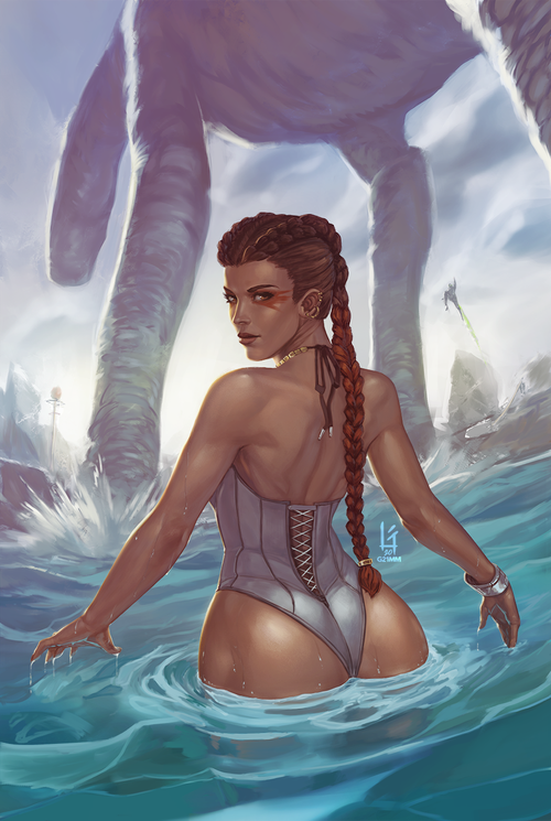 Image of Loba, Swimsuit Pin-up