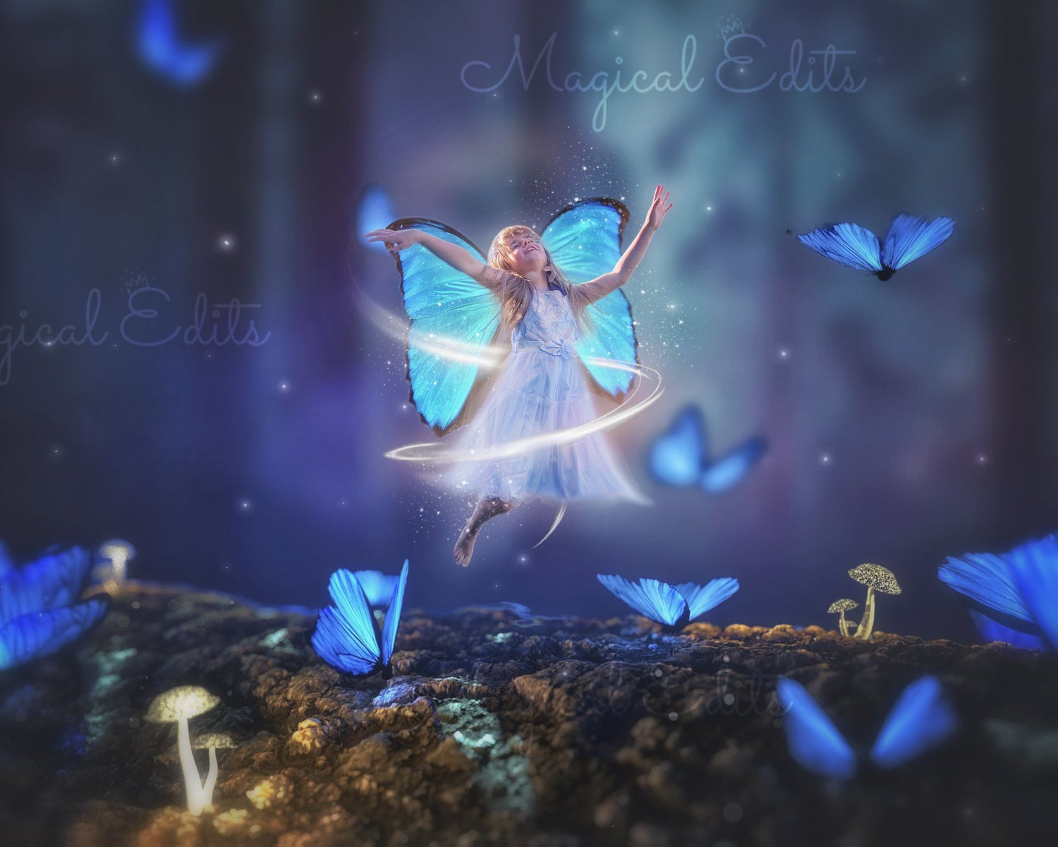 Image of Butterfly Girl Edit