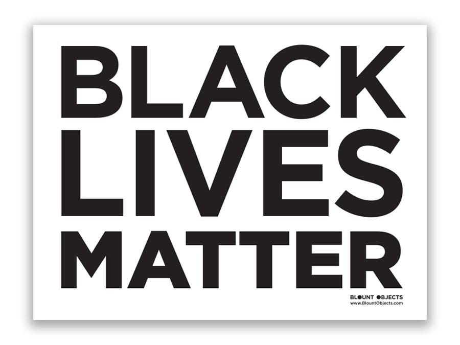 Image of Black Lives Matter Signs