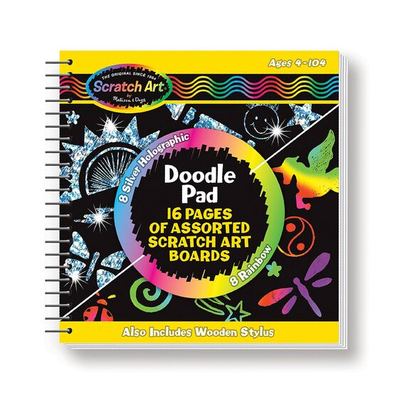 Image of Scratch Art® Doodle Pad Book