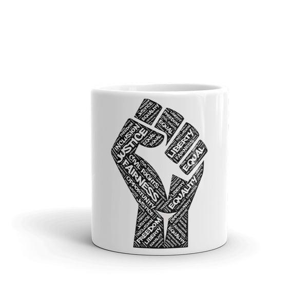 Image of Fist Of Equality Mug
