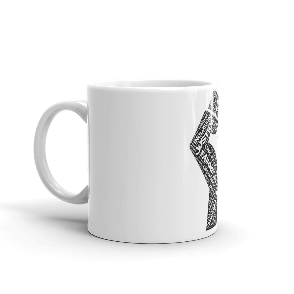 Fist Of Equality Mug