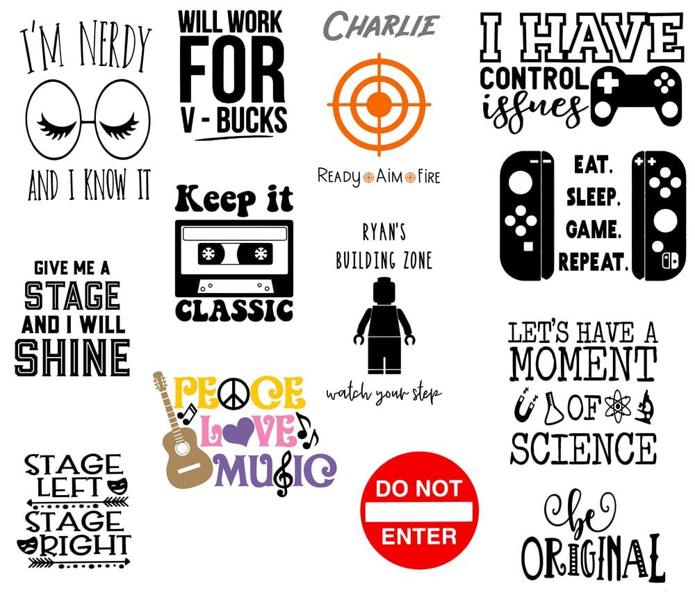 Image of Kids & Teens - Games & Hobbies Designs - 10x10 Wood Signs