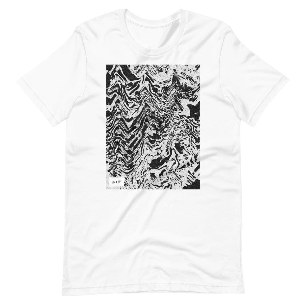 NAKID / WAVES - Short-Sleeve Unisex T-Shirt