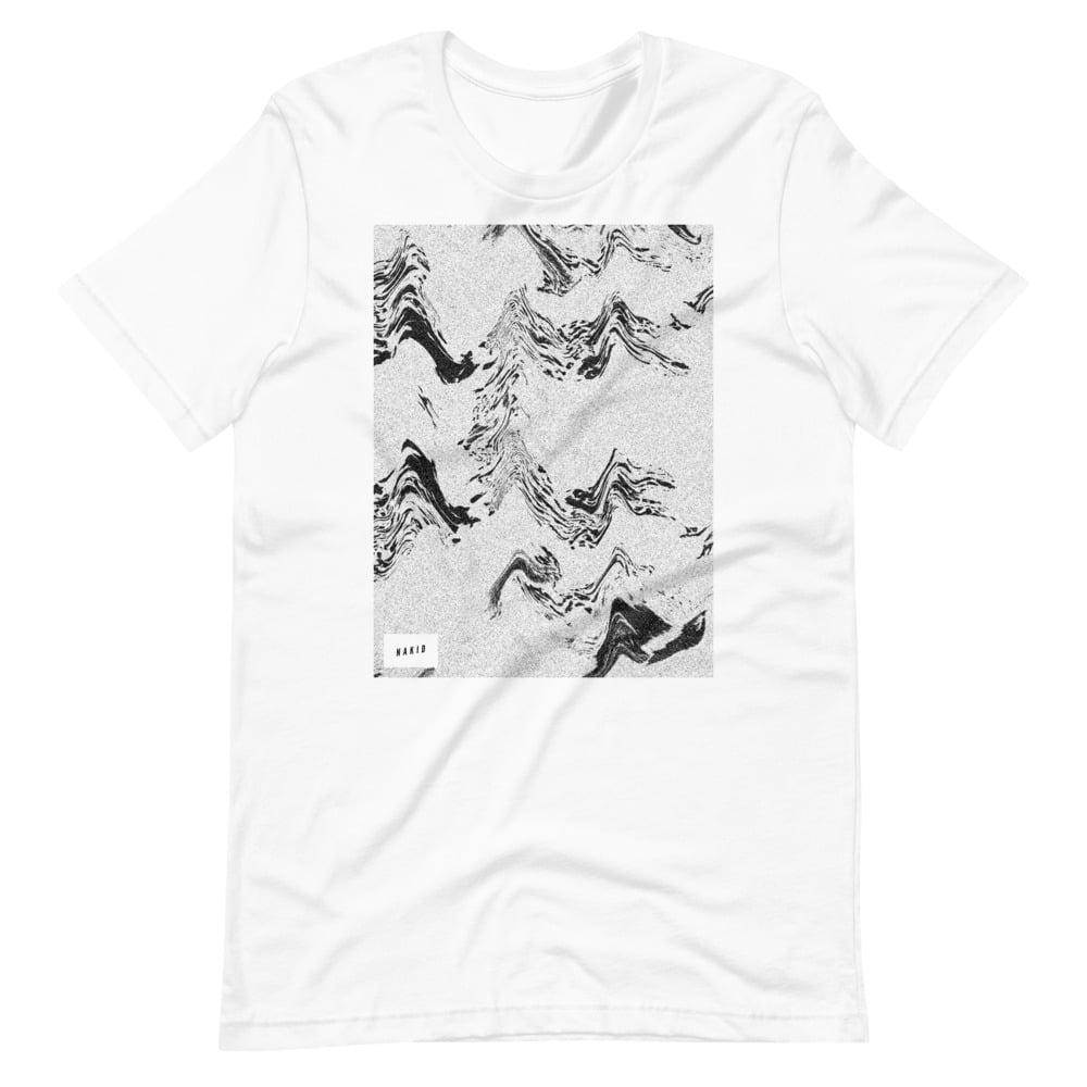 NAKID / WAVES 3 - Short-Sleeve Unisex T-Shirt