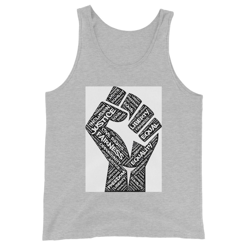 Image of The Fist Of Equality Unisex Tank