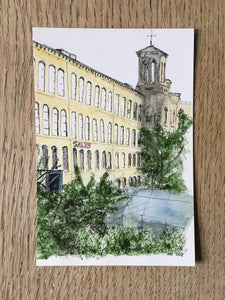 Image of Saltaire : 5 postcard pack