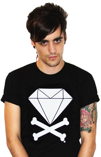 Image of Diamond & Crossbones (Black)