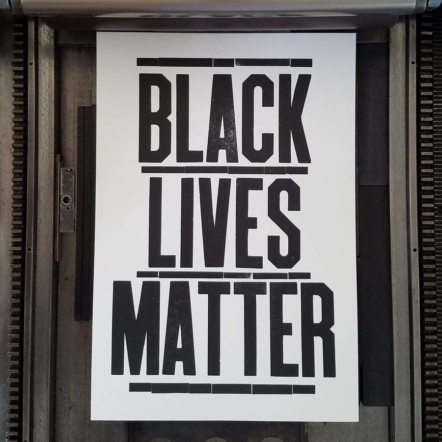 Image of Black Lives Matter Poster