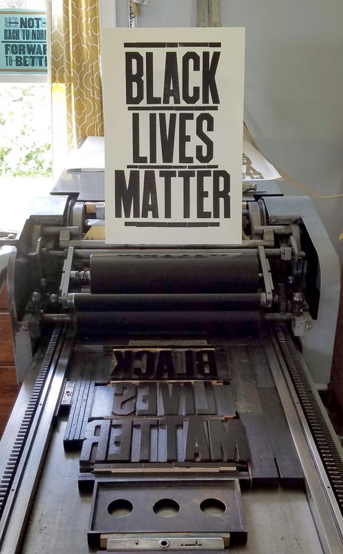 Image of Black Lives Matter Poster