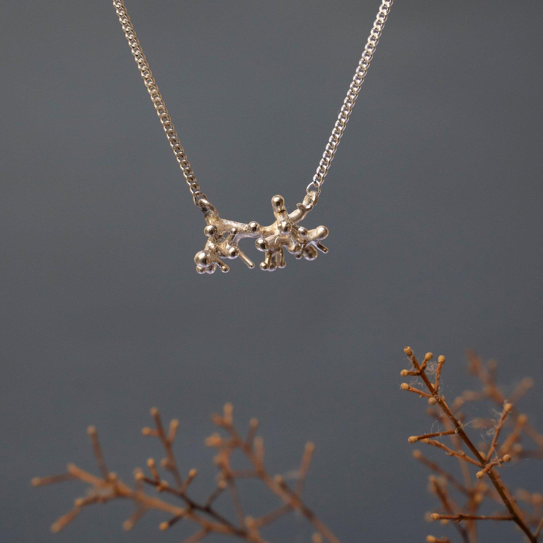 CORAL necklace little