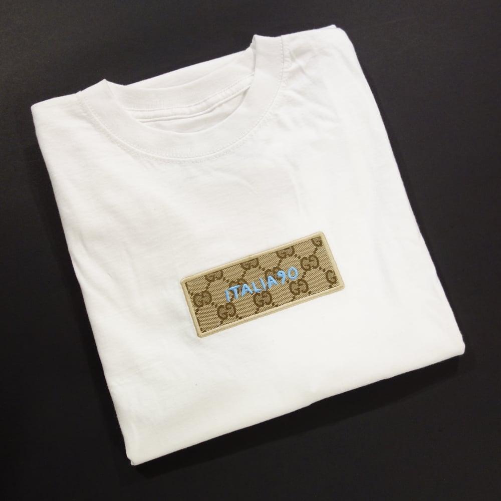 Image of Italia90 Box Logo Custom T-Shirt