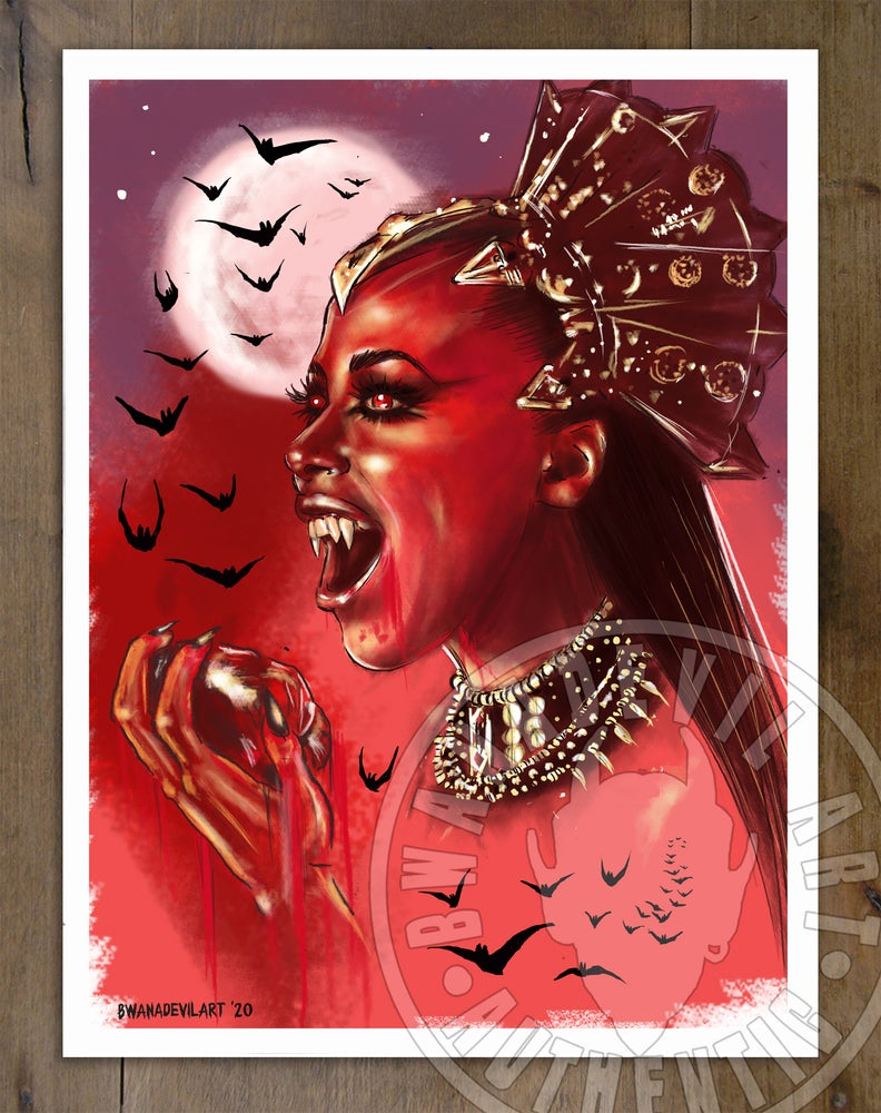 Image of Queen of the Damned Akasha (Aaliyah) Art Print