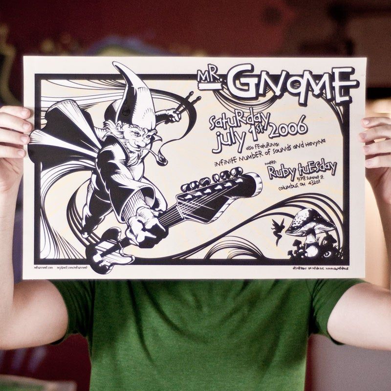 Image of Mr Gnome poster