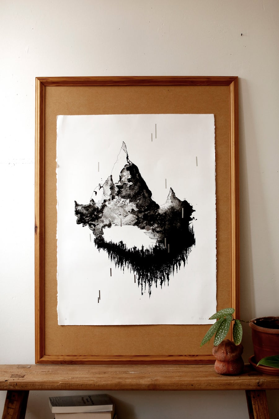 "Image of Exclusive ART PRINT   - "" I øde.""  (∼ "" Into the desolate."" )"