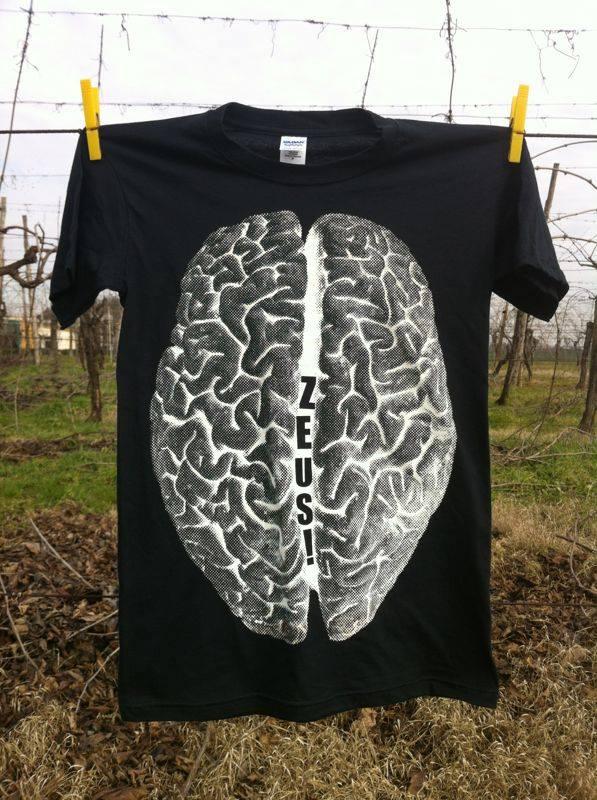 ZEUS! - T-shirt Big Brain