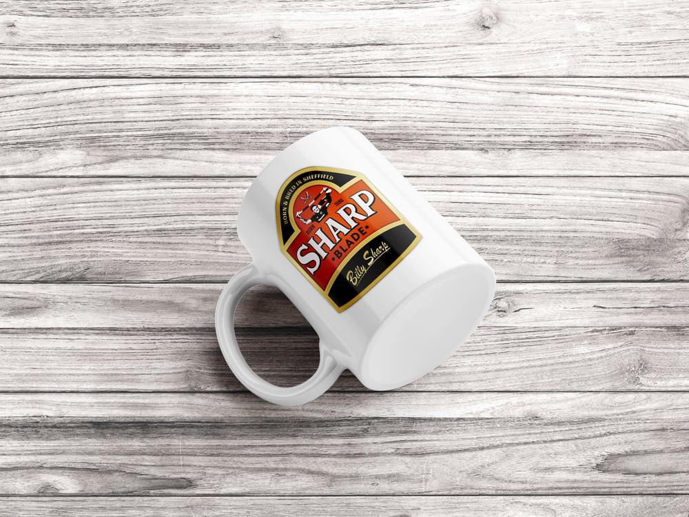 Billy Sharp Beer Logo Mug
