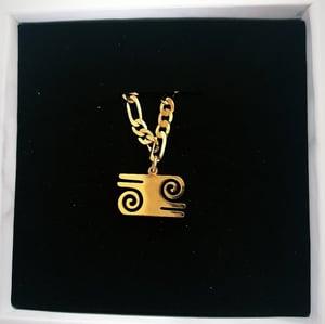 Image of Bravery Adinkra Pendant Bracelet