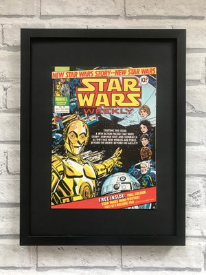 Image of Framed Vintage Comics-More Star Wars