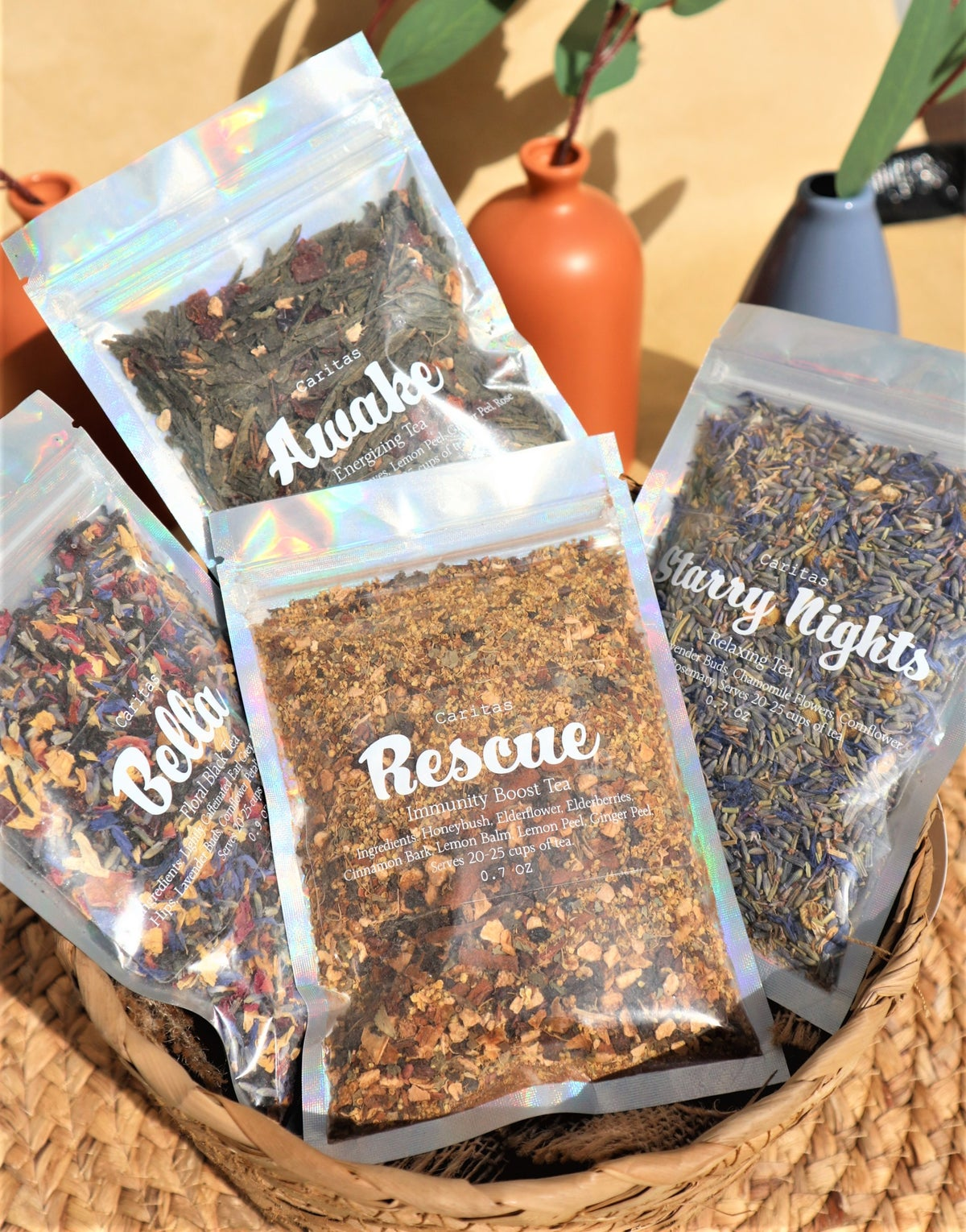 Image of Rescue (Immunity Boosting Loose Tea Blend)