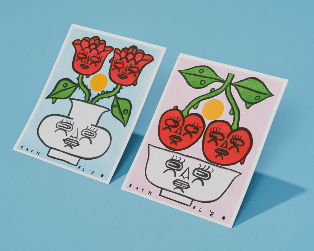 Image of Rose Couple & Cherry Couple