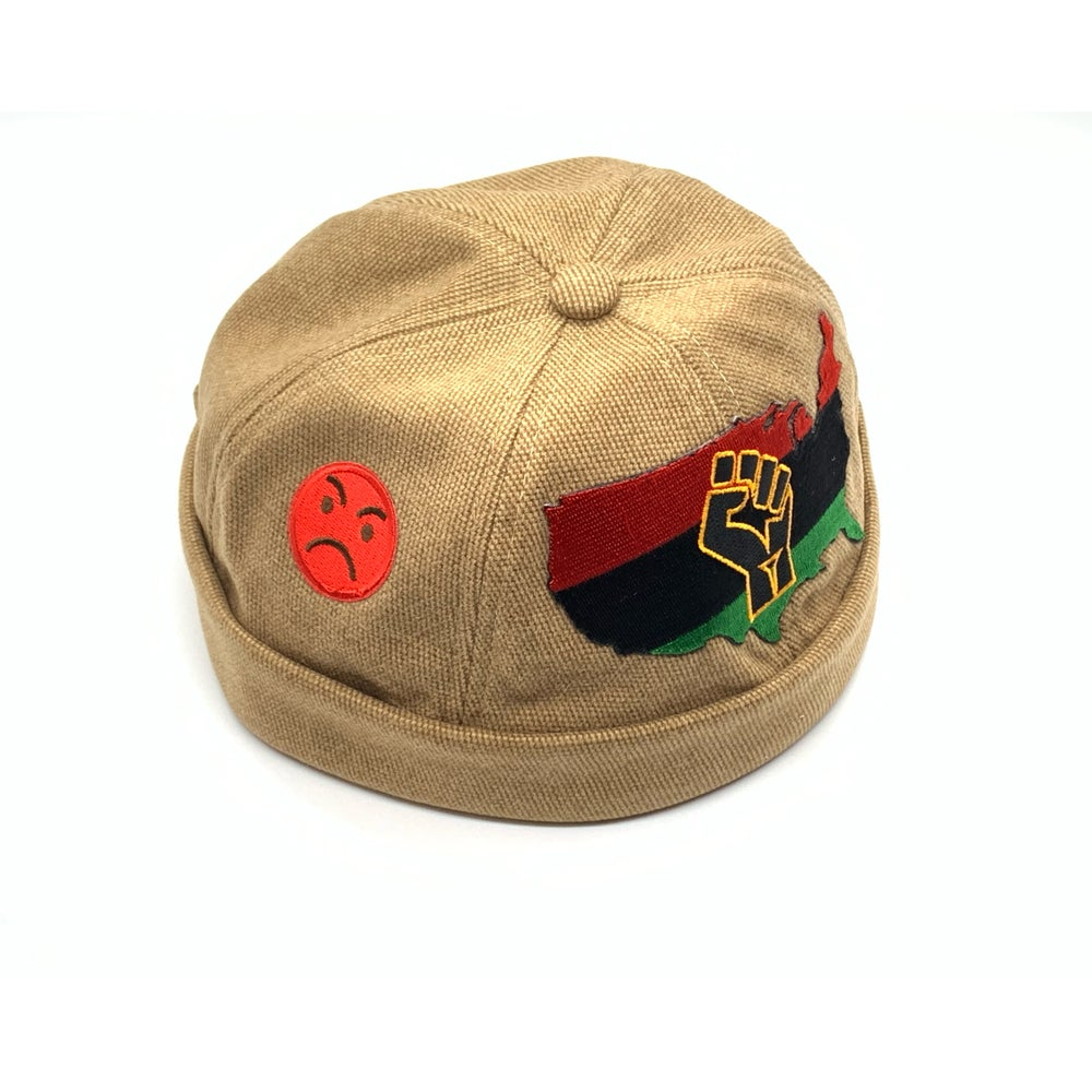 Image of Tan Aboriginal power beanie