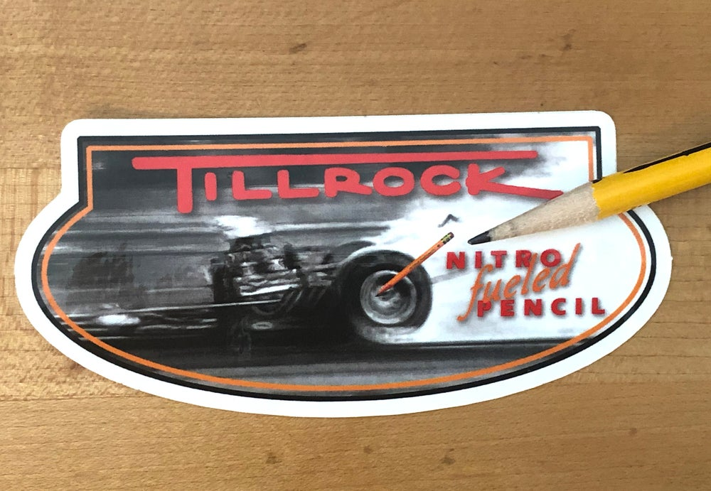 Image of Digger Die Cut Sticker #4