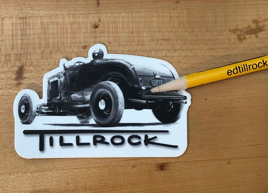 Image of Roadster Sticker #6