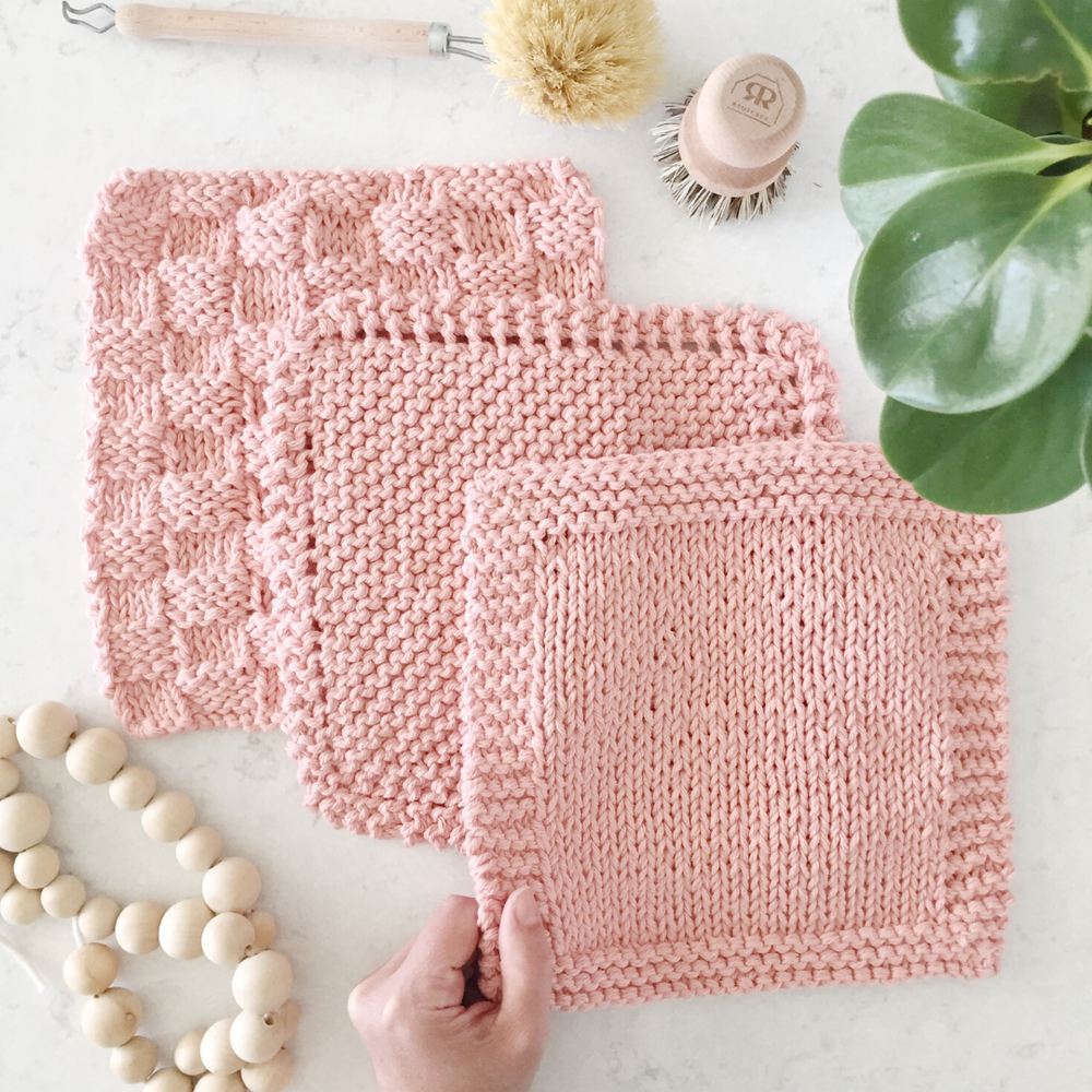 Image of Classic Cloths 3-in-1 Knitting Pattern PDF Download