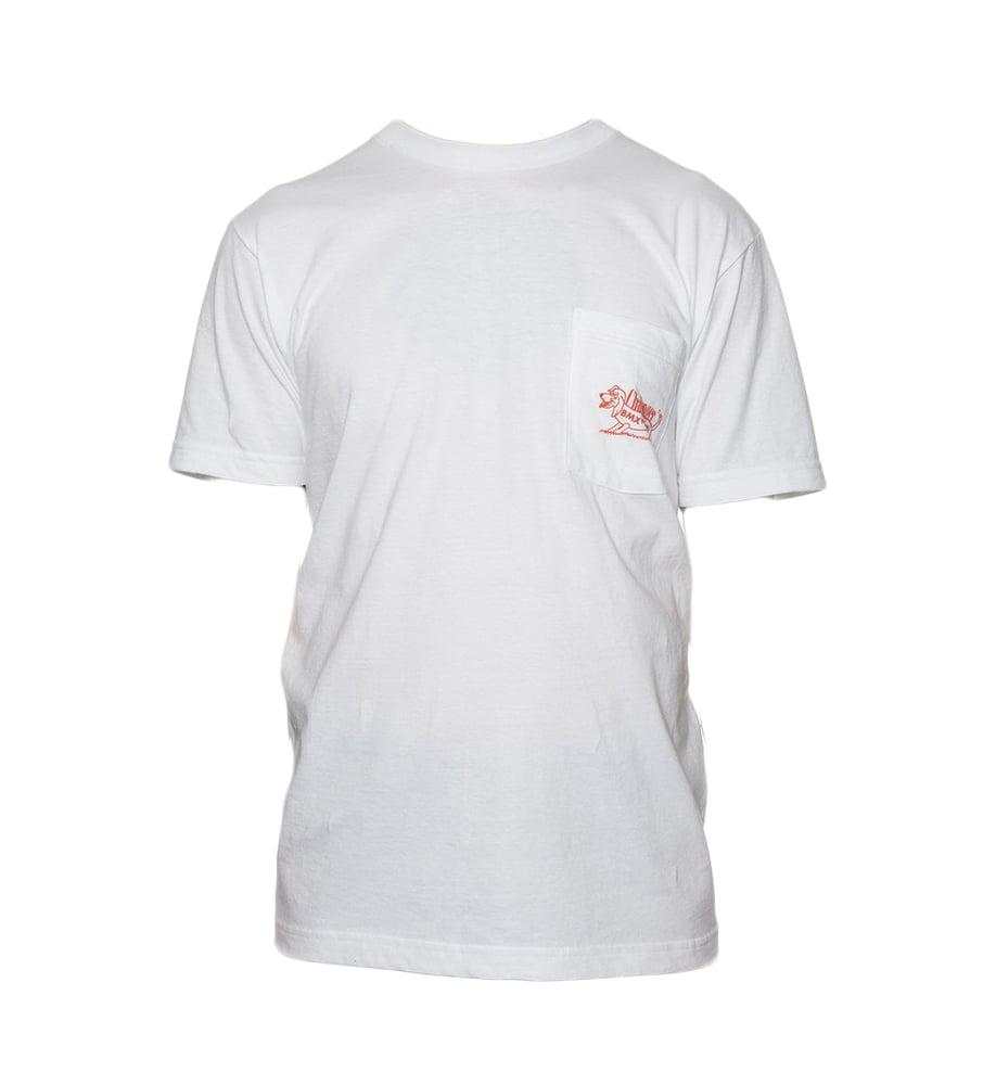 Image of Challenger Dog T-Shirt - White