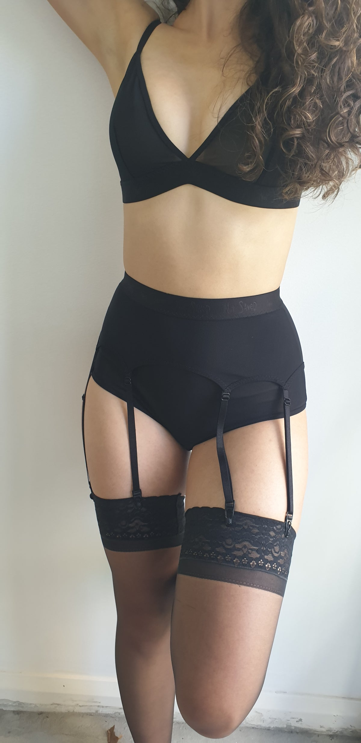 Image of Bonnie Suspender Belt