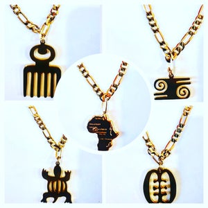 Image of Africa Map Bracelet