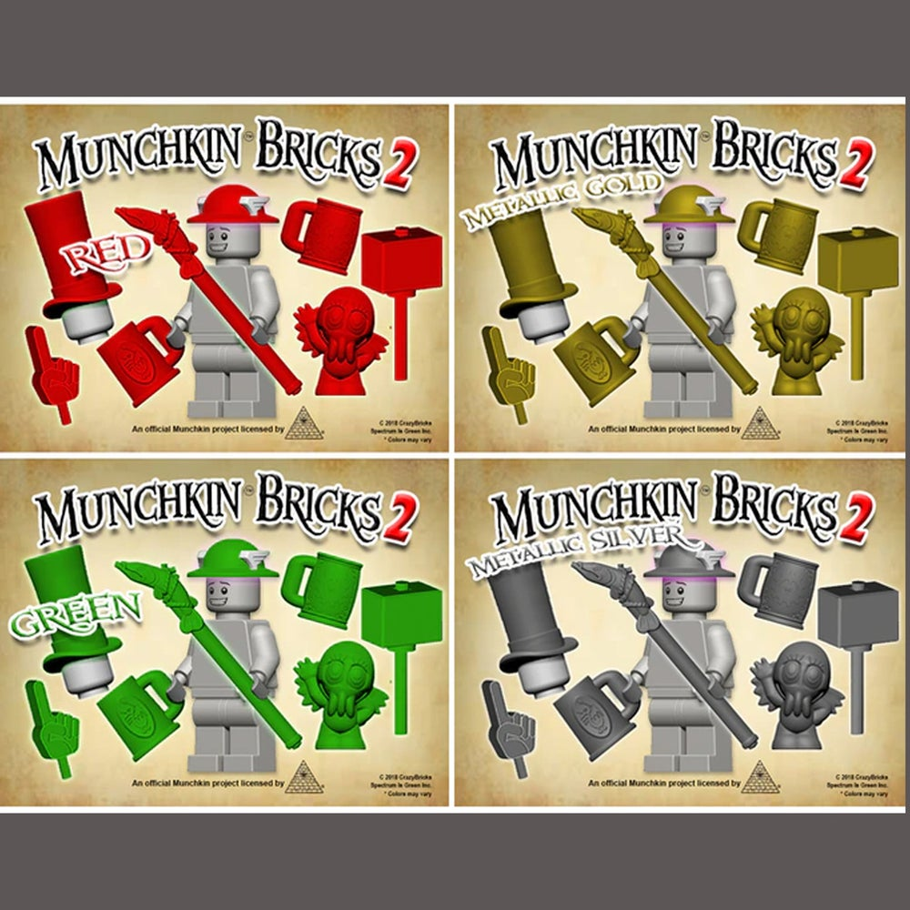 Image of Munchkin Bricks 2 - Small Inventory available! Includes OctoBrick