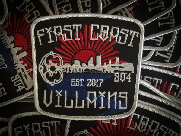 Image of First Coast Villains patches