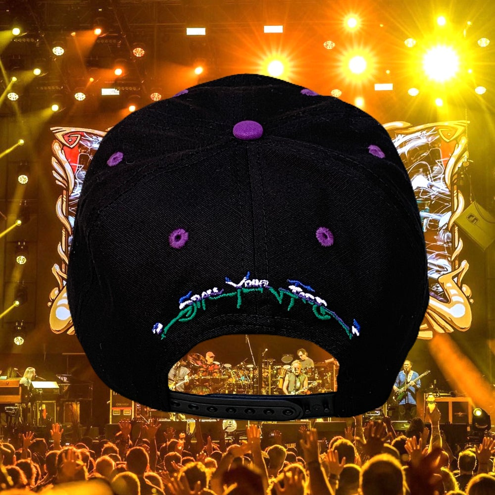 """Image of """"Space Your Face"""" 100% Natural Hemp Snapback Hat!"""
