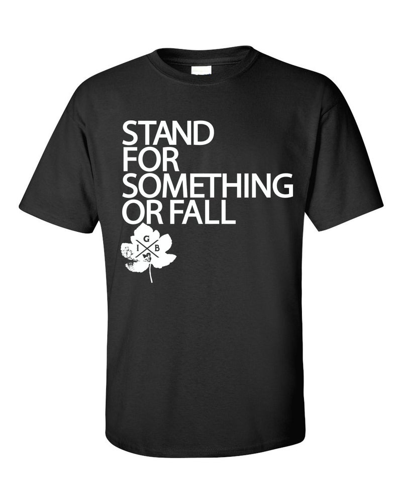 Image of Stand For Something Tee (Black)