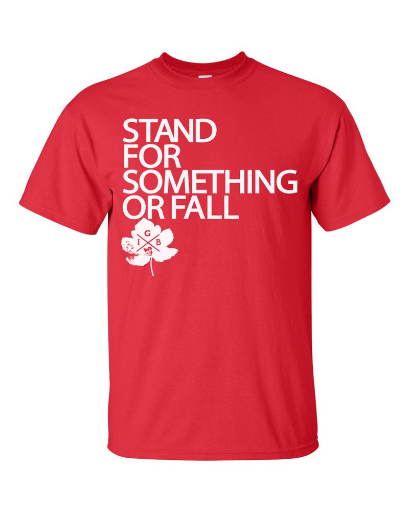 Image of Stand For Something Tee (Red)