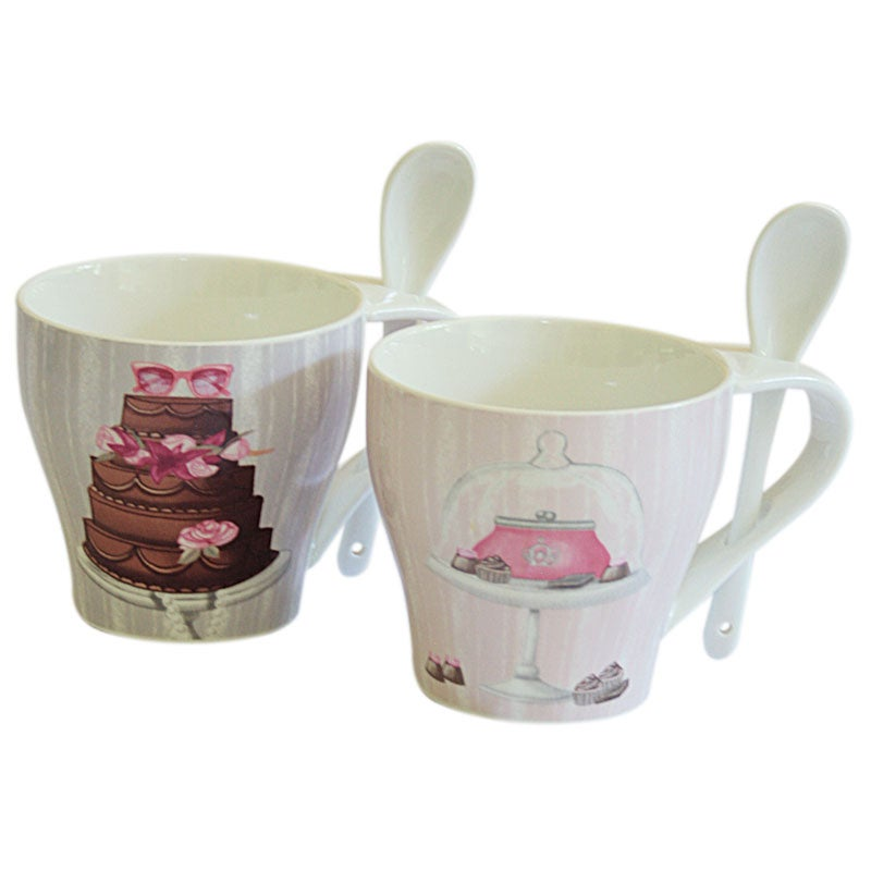 Image of Baci Milano Mug & Spoon Set