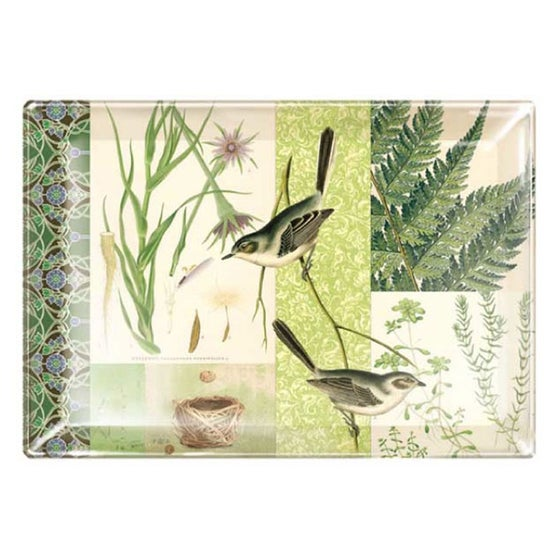 Image of Fringe Studio Large Glass Tray ~ Walden Design