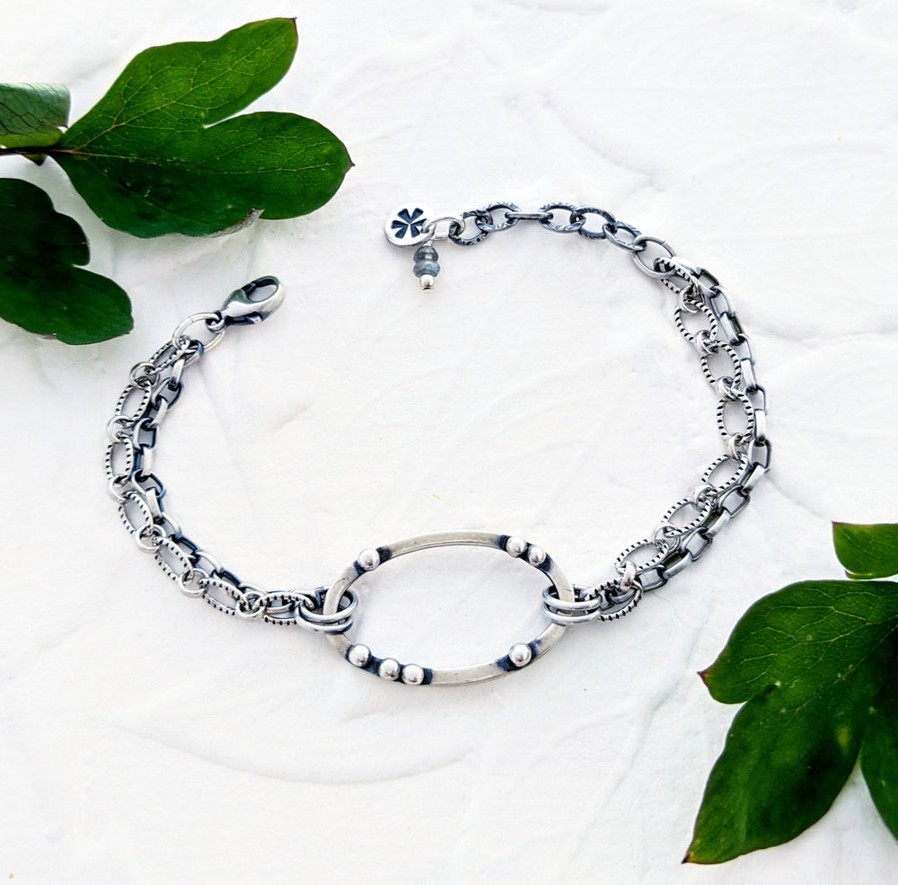 Image of Oval Pebbles Bracelet