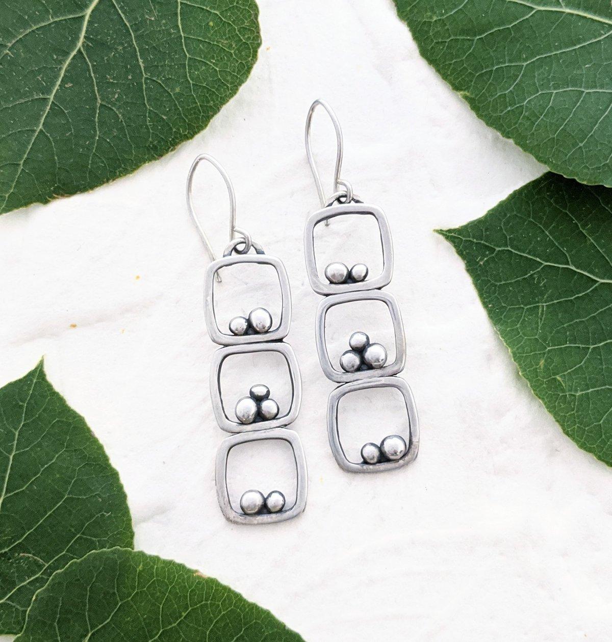 Image of Triple Rock Cairn earrings