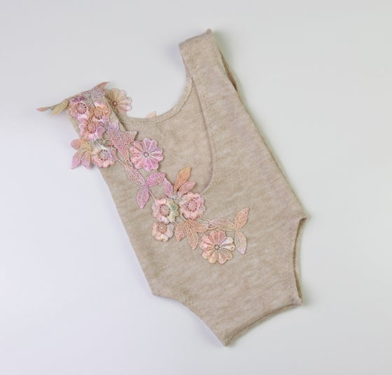 Image of Rainbow Newborn Romper - d