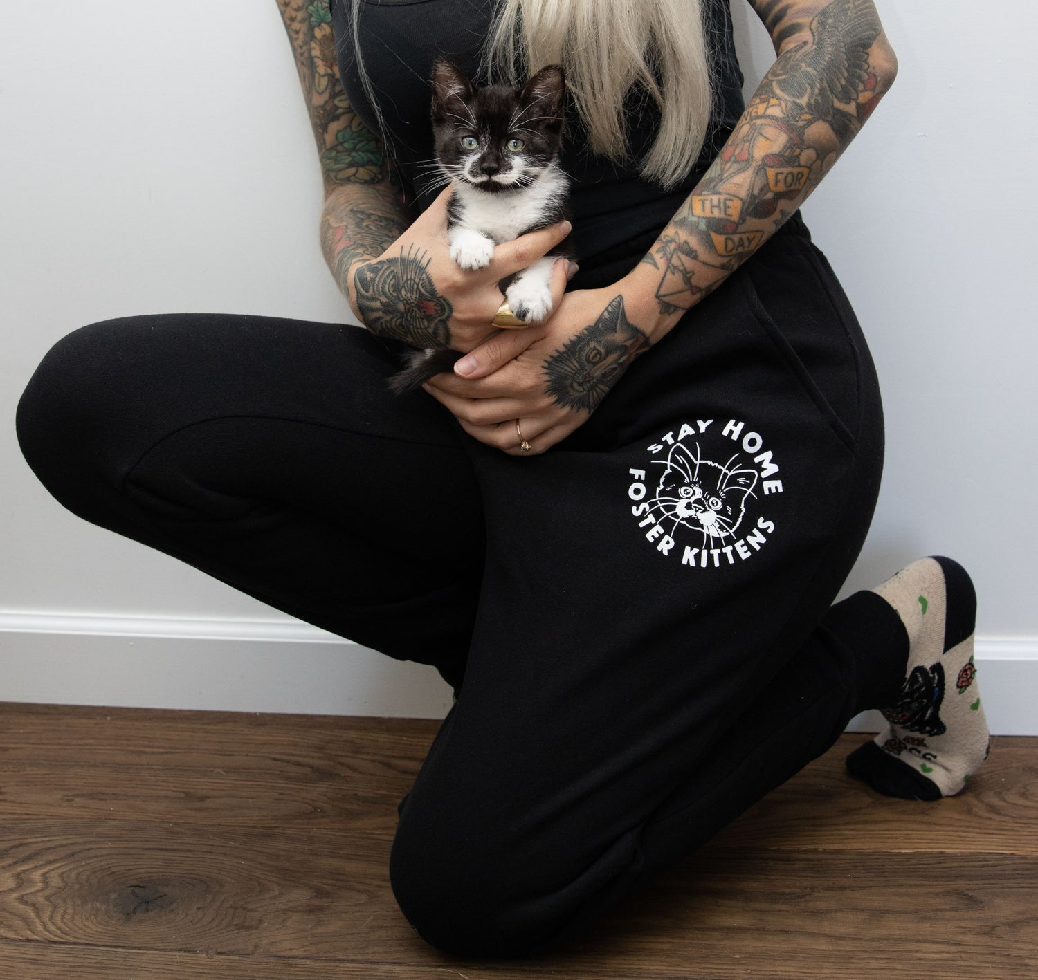 Image of Stay Home & Foster Kittens Sweatpants