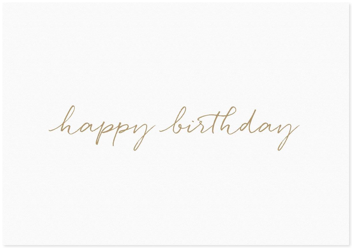 Image of Happy Birthday | Cursive