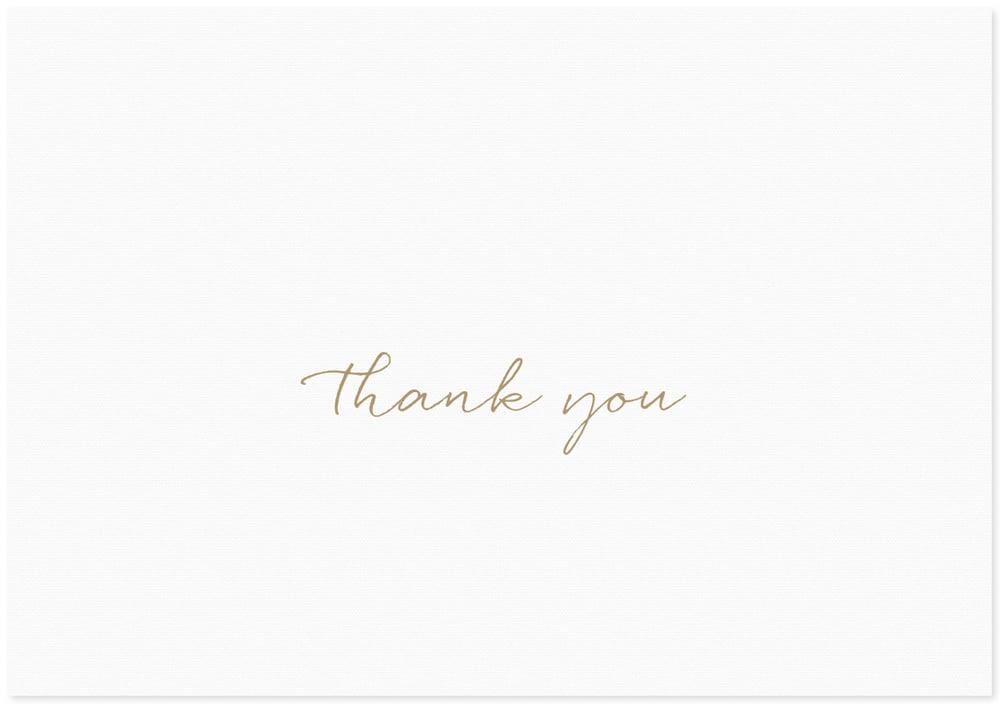 Image of Thank You | Cursive